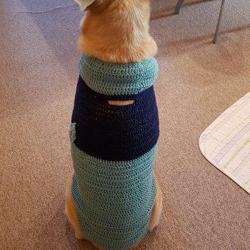 ばあちゃんの手編み!